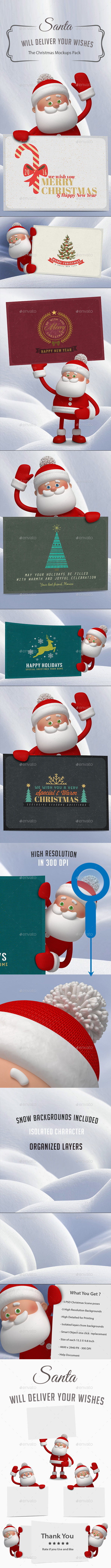 Santa - The Christmas Mockups - Miscellaneous Print