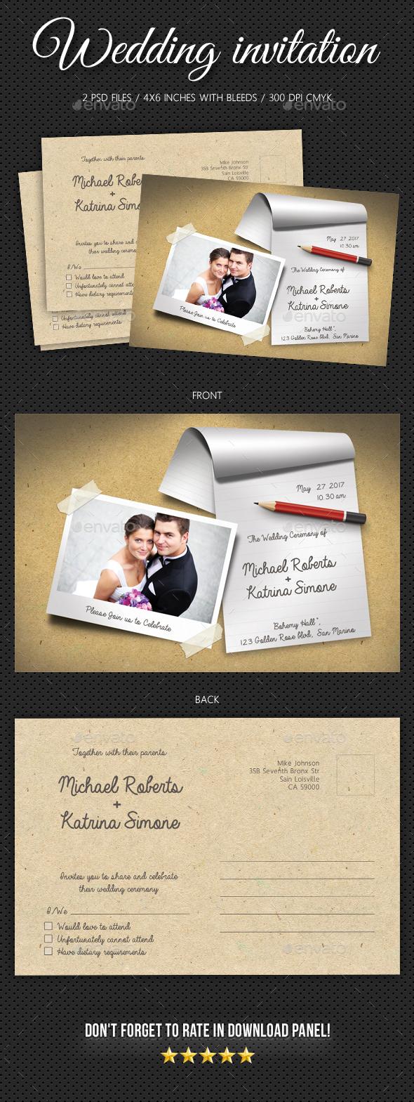 Wedding Invitation V7