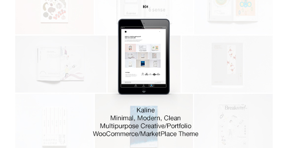 Kaline - Multipurpose, Minimal Creative WooCommerce Theme