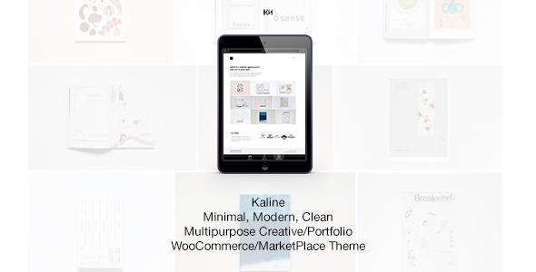 Kaline - Multipurpose, Minimal Creative WooCommerce Theme - Portfolio Creative