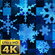 Broadcast Spinning Hi-Tech Snow Flakes 02 - VideoHive Item for Sale