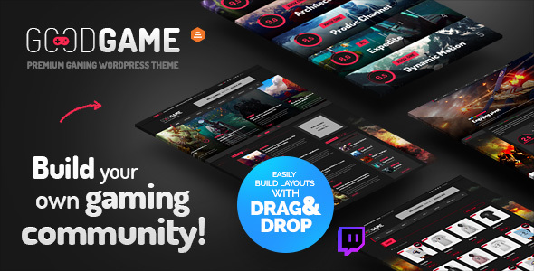 Image of GoodGame - Twitch Integrated WordPress Gaming News Magazine