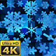 Broadcast Spinning Hi-Tech Snow Flakes 03 - VideoHive Item for Sale