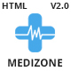 Medizone - Health & Medical Responsive HTML5 Template Nulled