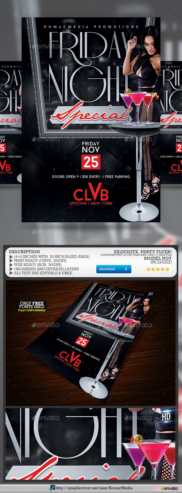 Exquisite Party Flyer - Clubs & Parties Events