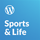 Sports & Life - Gym and Fitness WordPress Theme Nulled