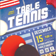 Table Tennis II - Ping Pong Flyer Template - GraphicRiver Item for Sale