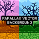 Parallax Vector Game Background with Tileset - Vertical & Horizontal - GraphicRiver Item for Sale