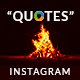 Quotes Instagram Templates - 20 Designs - Free Images - GraphicRiver Item for Sale