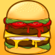 Double Patty Burger - GraphicRiver Item for Sale