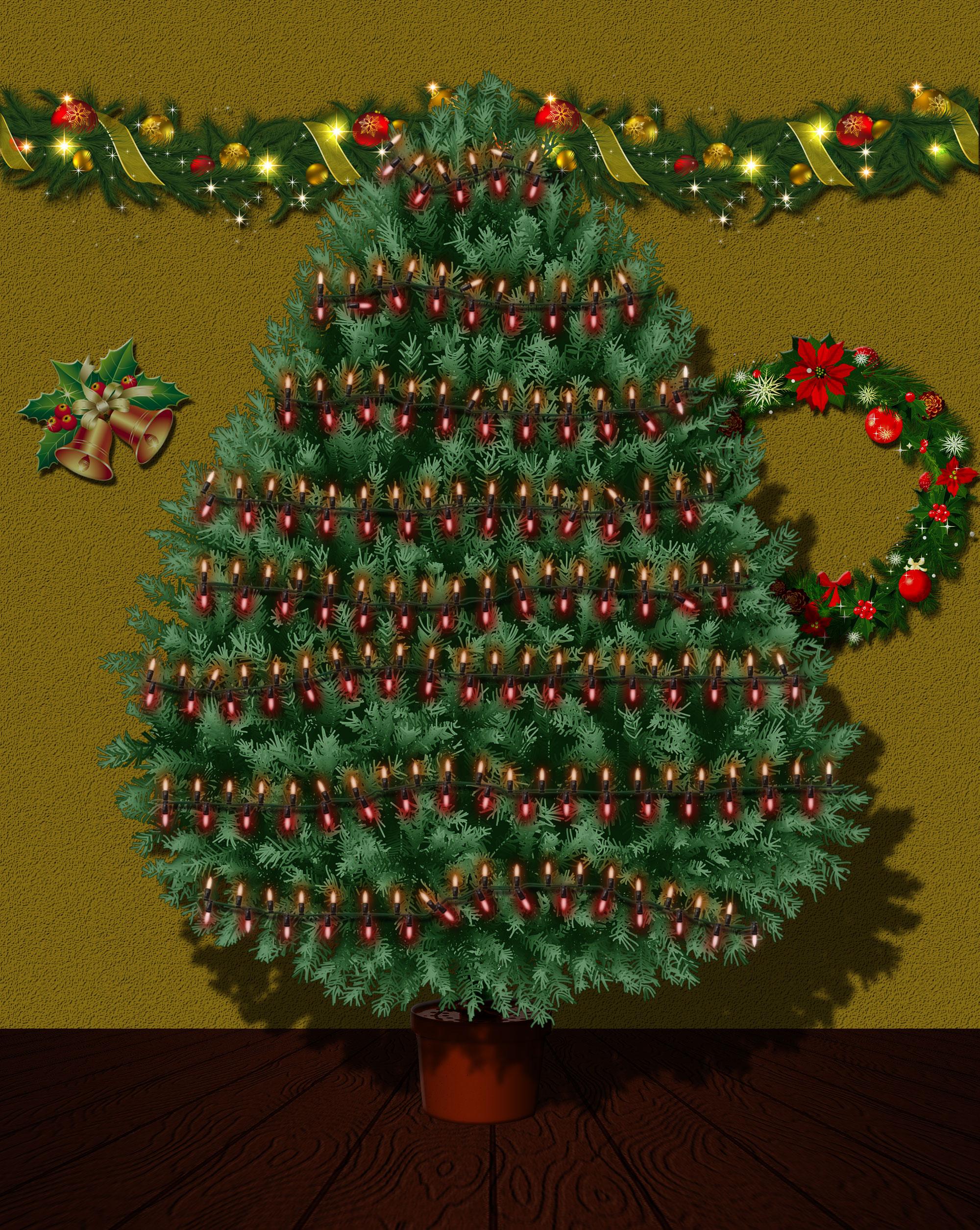 Animated Xmas Tree & Lights Kit by Jipito | GraphicRiver