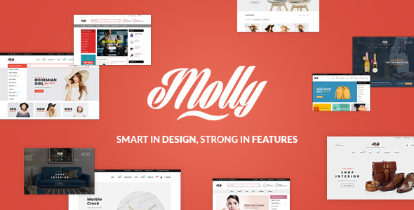 Molly – Multipurpose Responsive Shopify Themes