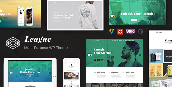 League – Creative Multi-Purpose WordPress Theme