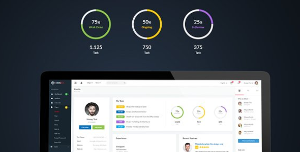 Smartbox – Bootstrap Admin Dashboard Template