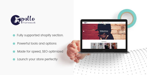 Apollo DRAG and DROP Shopify Theme