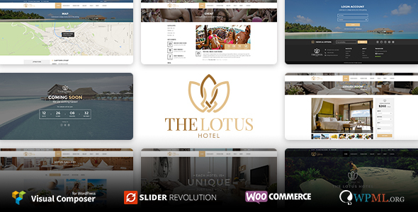 Lotus – Hotel Booking WordPress Theme