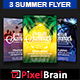 Summer Party Flyer Template Bundle Vol - 01 - GraphicRiver Item for Sale