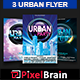 Urban Party Flyer Template Bundle Vol - 01 - GraphicRiver Item for Sale