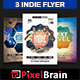 indie Party Flyer Template Bundle Vol - 02 - GraphicRiver Item for Sale