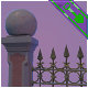 Graveyard Fences - 3DOcean Item for Sale