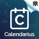 Calendarius - Comprehensive and Modern Calendar Plugin for WordPress - CodeCanyon Item for Sale