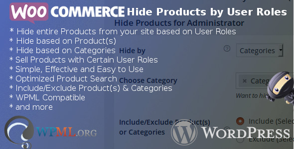 WooCommerce Hide Products by User Roles - CodeCanyon Item for Sale