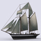 Schooner - 3DOcean Item for Sale