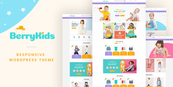 BerryKid – Baby Store WooCommerce WordPress Theme