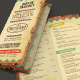 Trifold Mexican Food Menu - GraphicRiver Item for Sale