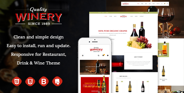 JMS Winery – Responsive Prestashop Theme
