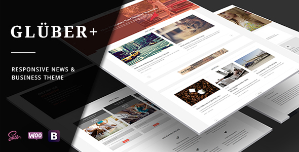 Gluber – Multi Purpose Personal & News Theme