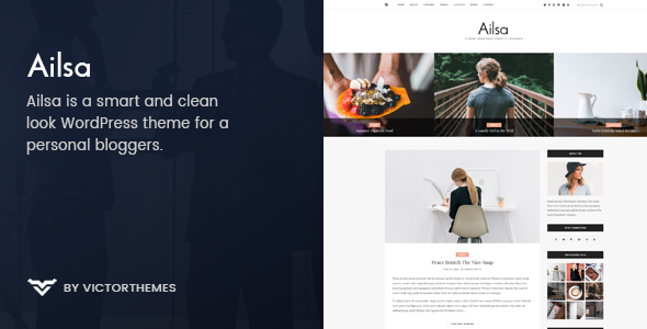 Ailsa – Personal Blog WordPress Theme