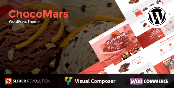 ChocoMars – Multi-Purpose WordPress Theme