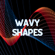 Wavy Shapes Backgrounds - GraphicRiver Item for Sale
