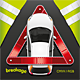 Car and Breakdown Triangle - GraphicRiver Item for Sale