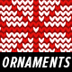 Knitted Sweater Ornaments & Vintage Patterns – X-Mas Pack - GraphicRiver Item for Sale