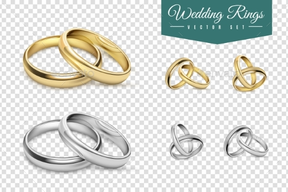 Wedding Rings Set - Weddings Seasons/Holidays