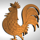 The Golden Cockerel - 3DOcean Item for Sale