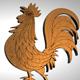 The Golden Cockerel - 3DOcean Item for Sale