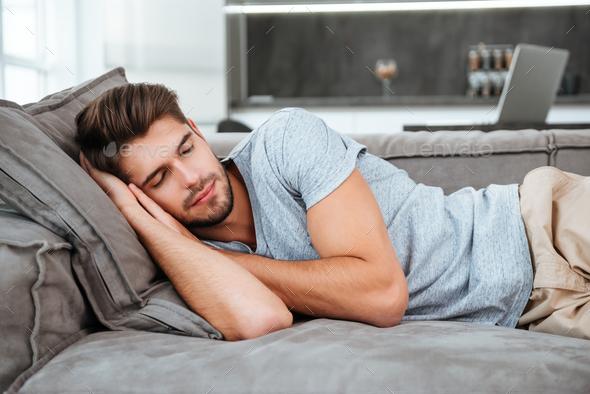 Man sleeping movies pics 30