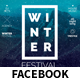 Winter Festival Facebook Covers and Post Banners