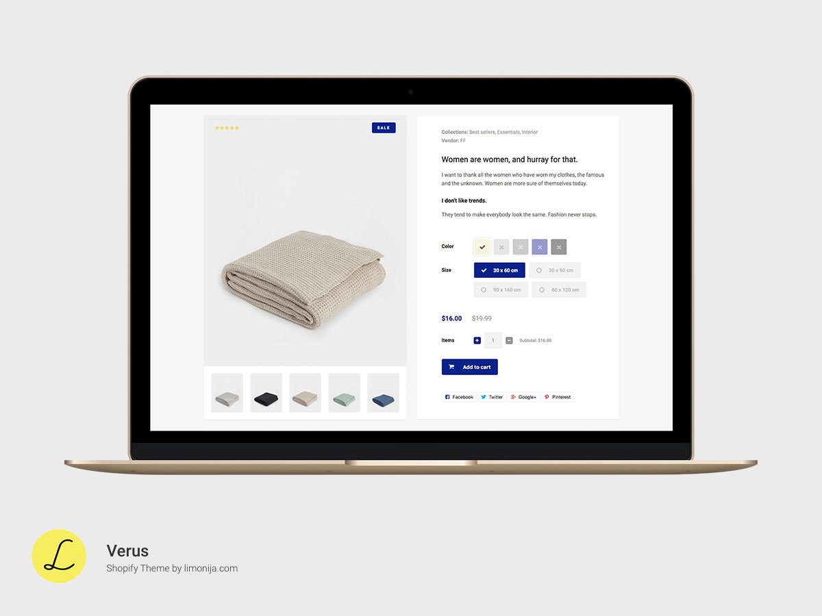 Verus multipurpose responsive shopify theme by limonija 05premium responsive shopify themeg pronofoot35fo Image collections