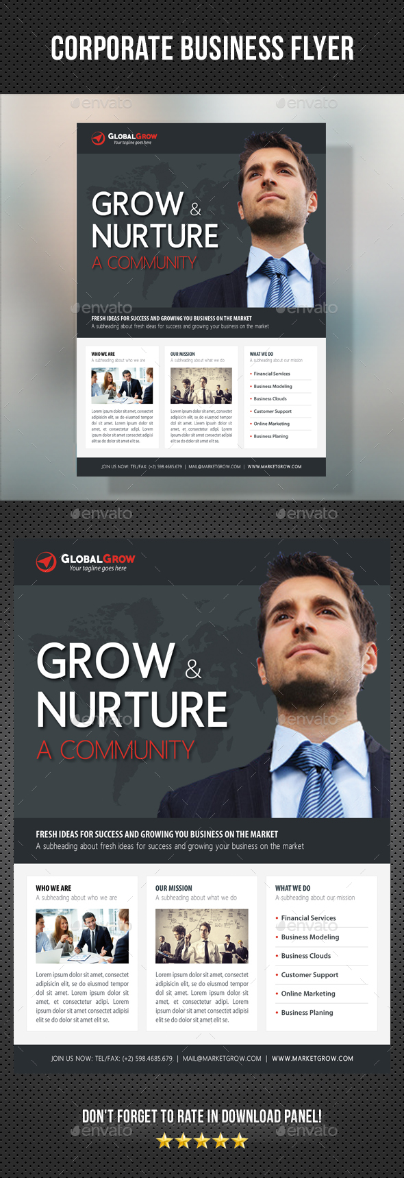 Corporate Business Flyer 12 - Corporate Flyers