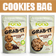 Cookies Bag Packaging Template - GraphicRiver Item for Sale