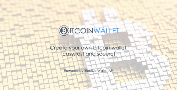 BitcoinWallet PHP Script v1.0 - CodeCanyon Item for Sale