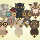 Owl Generation - Owl Generator - GraphicRiver Item for Sale