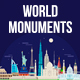 World Monuments - GraphicRiver Item for Sale
