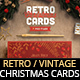Retro Vintage Christmas Card Pack III - GraphicRiver Item for Sale