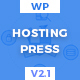 HostingPress - WHMCS Hosting WordPress Theme Nulled