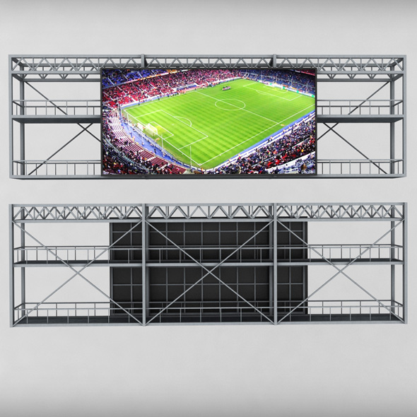 Scoreboard stadium tv led screen - 3DOcean Item for Sale
